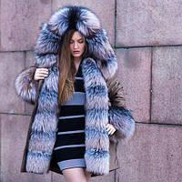 Парки меховые Blue Frost от производителя индивидуальный пошив