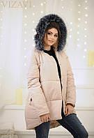 Женская модная куртка  РО5022 (бат)