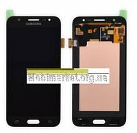 Дисплейний модуль (дисплей + сенсор) Samsung J500F/DS Galaxy J5, J500H/DS Galaxy J5, J500M original чорний