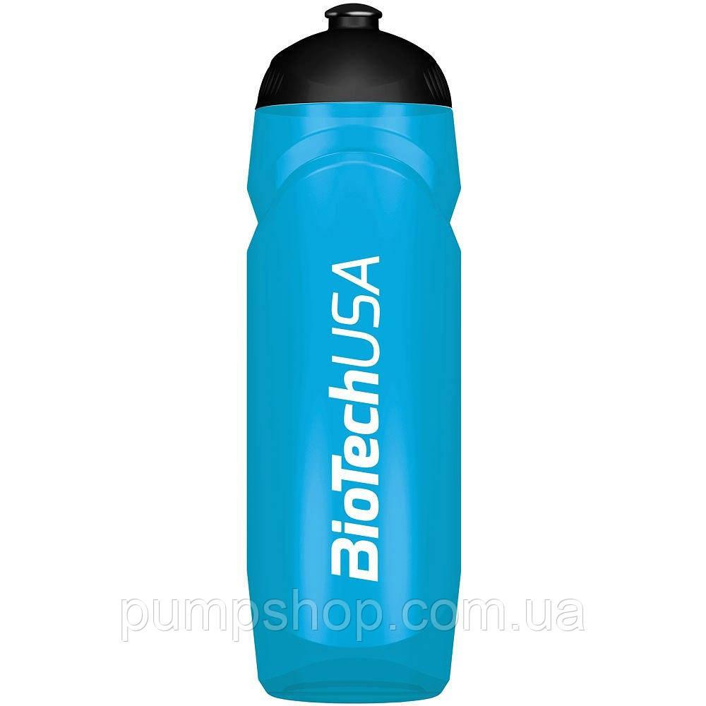 Бутылка для воды Waterbottle BioTech 750 мл синяя