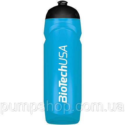 Бутылка для воды Waterbottle BioTech 750 мл синяя, фото 2