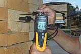 Влагомер древесины Exotek MC-410 (6-99%; -35...+80°C) с выносным датчиком температуры и влажности. Германия, фото 4