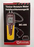 Влагомер древесины Exotek MC-410 (6-99%; -35...+80°C) с выносным датчиком температуры и влажности. Германия, фото 6