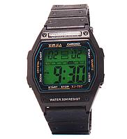 Часы наручные с подсветкой пластмассовые XJ-707