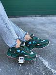 Кроссовки Adidas Raf Simons Ozweego II Dark Green. Топ качество. Живое фото (Реплика ААА+), фото 3