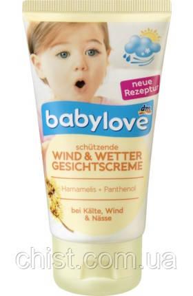 Babylove крем детский защитный от непогоды с гамамелисом и пантенолом (75 мл) Германия