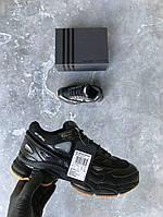 Кроссовки Adidas Raf Simons Ozweego 2 Bunny – Black. Топ качество. Живое фото (Реплика ААА+)
