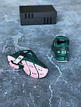Кроссовки Adidas Raf Simons Ozweego II Dark Green. Топ качество. Живое фото (Реплика ААА+), фото 4