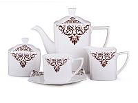 """Фарфоровый чайный сервиз на 15 пр-в """"Бруклин"""" Lefard 264-620"""
