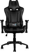 Кресло для геймеров Aerocool AC120B Black + 2 подушки (ACGC-2002101.11)