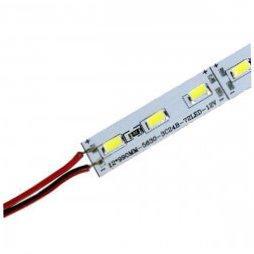 Светодиодная линейка DX 5630-72 led 18W 6500K, 12В, IP20 теплый белый
