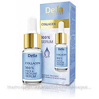 """Сыворотка коллаген для лица, шеи, декольте против морщин """"Delia"""" (10ml)"""