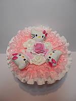 """Букет из мягких игрушек """"Kitty roses"""", фото 1"""