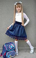 Юбка детская 3552нт школа