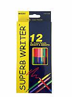 """Цветные двухсторонние карандаши """"Marco"""" 12+12 цветов"""