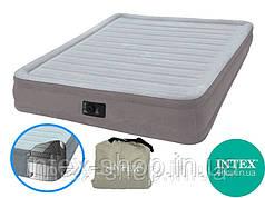 Надувная кровать Intex Comfort Plush Mid Rise Airbed 67770, (203x152x33см)