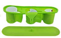 3D форма силиконовая для нестандартных чашек (тройная)