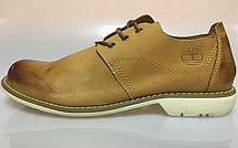 Ботинки мужские   Timberland Hartwick Plain Toe Oxford Mid Yellow мокасины тимберленд