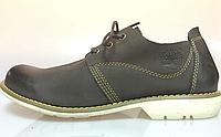 Ботинки мужские  Timberland Hartwick Plain Toe Oxford High Brown мокасины тимберленд