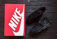Кроссовки Nike Air Max 90 Ultra BR All Black. Живое фото. Топ качество (аир макс, эир макс)