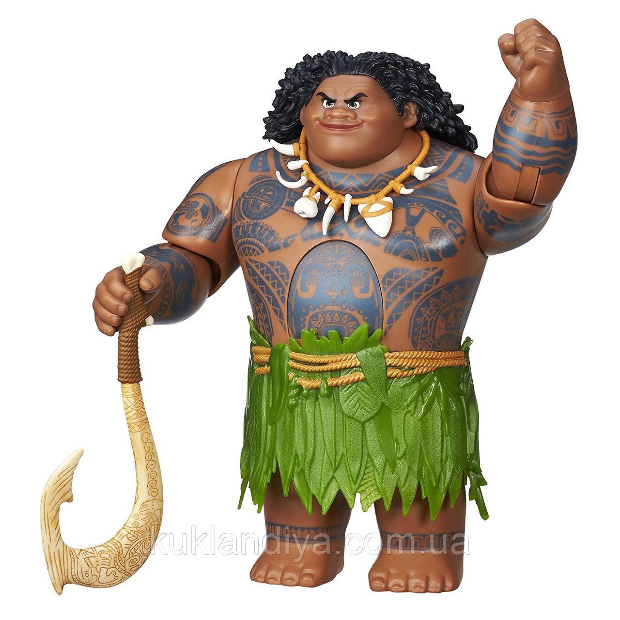 Интерактивная игрушка Мауи  Дисней из Моаны (Ваяна) Moana Hasbro 31 см