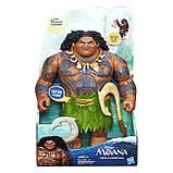 Интерактивная игрушка Мауи  Дисней из Моаны (Ваяна) Moana Hasbro 31 см, фото 2