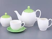 Фарфоровый чайный сервиз на 15 пр-в Lefard 722-089