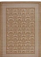 Безворсовый ковер-рогожка абстрактный узор