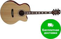 Электро-акустическая гитара Cort CJ1F (NS)