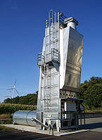 Мобильная шахтная зерносушилка STELA, модель Universal 25