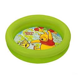 Детский надувной бассейн басейн Intex 58922 Винни Пух, зелёный