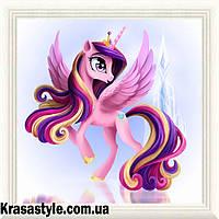 Алмазная вышивка Принцесса Пони