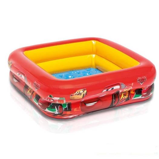 Детский надувной бассейн басейн Intex Тачки