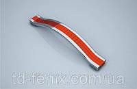Ручка BETA_BT  128мм хром/красная