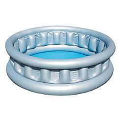 Детский надувной бассейн басейн BestWay 51080  152 х 43 см Космический корабль круглый