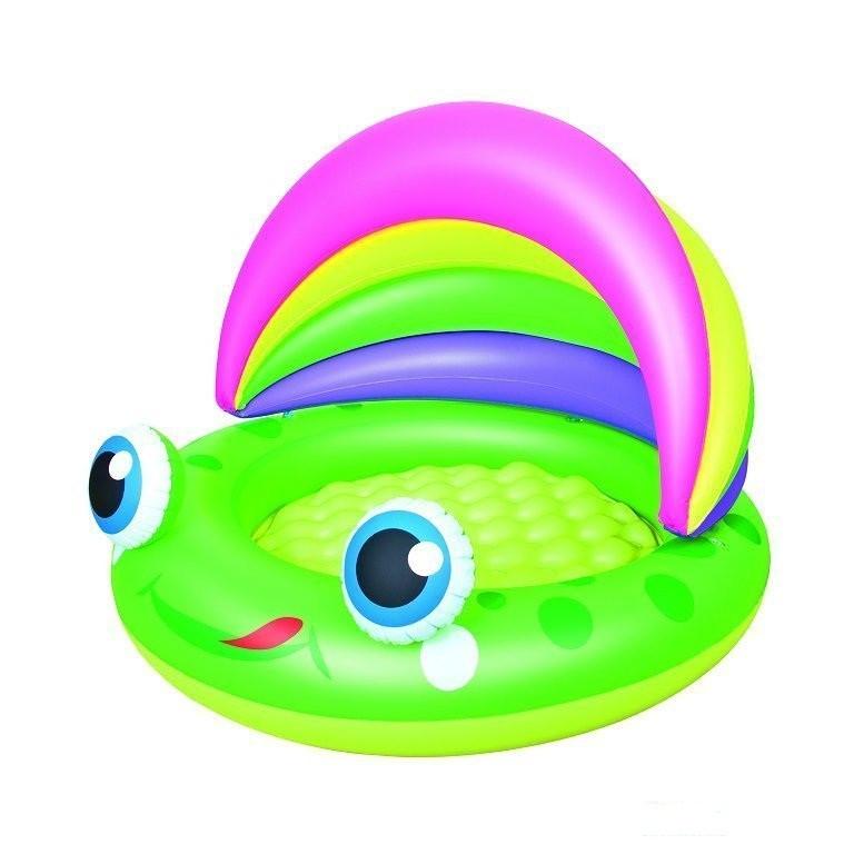 Детский надувной бассейн бассейн 109х104х76 см BestWay 52188 Лягушка круглый