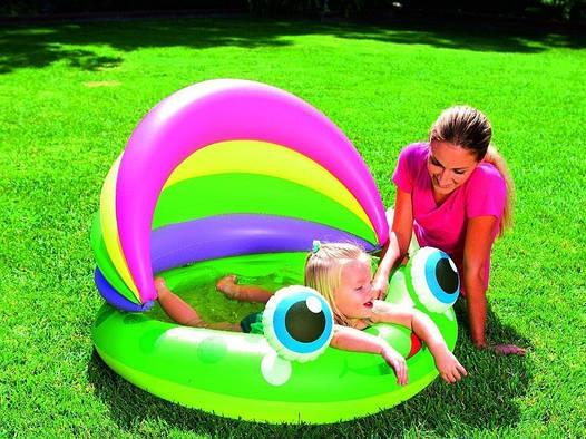 Детский надувной бассейн бассейн BestWay Лягушка