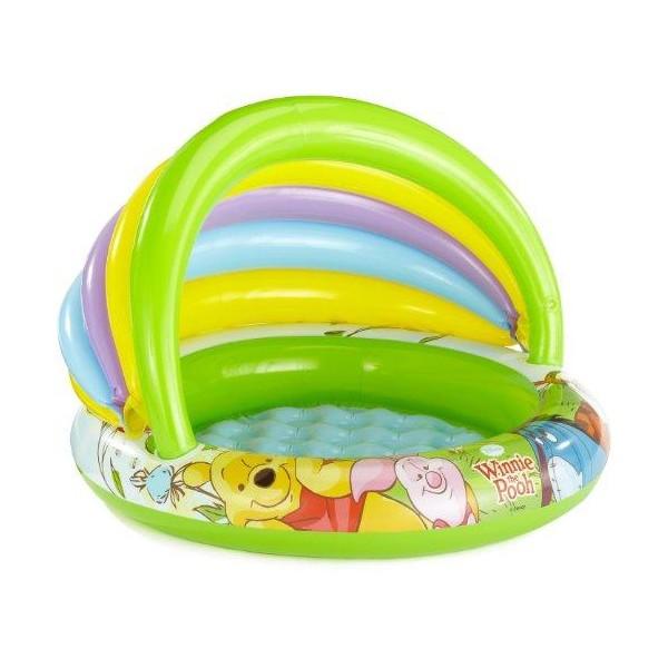 Детский надувной бассейн с навесом Винни пух INTEX 57424 Басейн