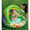 Детский надувной бассейн с навесом Винни пух INTEX Басейн