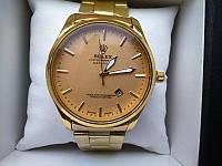 Наручные часы Rolex мужские под золото 2268 (копия)