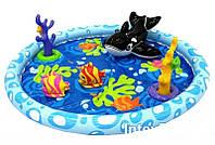 Детский надувной бассейн басейн центр Intex 57448 Океан