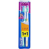 Зубная щетка Oral-B Classic средняя, 2шт
