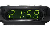 Часы  сетевые VST-716 зеленые