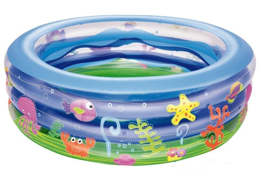 Детский надувной бассейн басейн BestWay Басейн круглый 152х51 см
