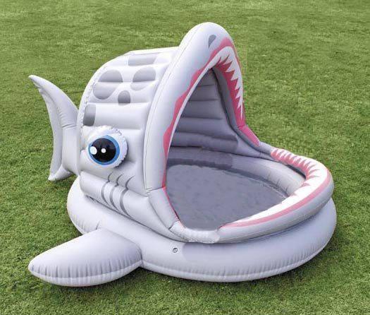 Детский надувной бассейн INTEX Акула Басейн
