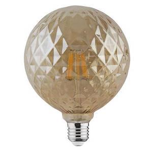 Светодиодная лампа Эдисона Filament VINTAGE TWIST-6 6W D125 Е27 2200K (мат.золото) Код.58960, фото 2
