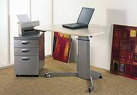 501-7S: Угловой компьютерный стол (для угловых и небольших прямых столешниц)