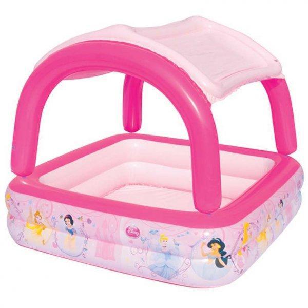 Детский надувной бассейн Принцессы 147 х 122 х 32 см BESTWAY 91057 Басейн квадратный