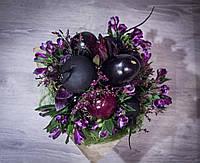 Веган-букет моно(фиолетовый)