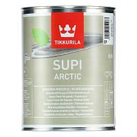 Перламутровый защитный состав для бани Супи Арктик Тиккурила ( Supi Arctic Tikkurila ) колеруемый 0,9л